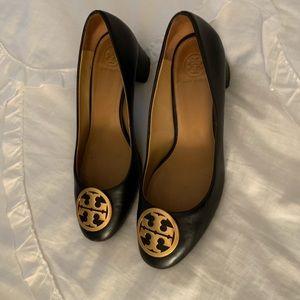 Tory Burch Black Heels.